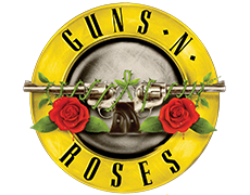 logo for spilleautomaten guns n roses