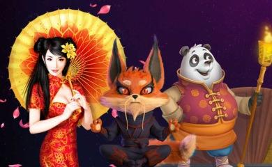 uPlayma geisha panda
