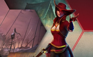 RedBet dame rød hatt
