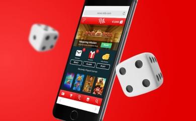 Rolla Casino på mobil terninger