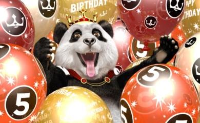 Royal Panda ballonger