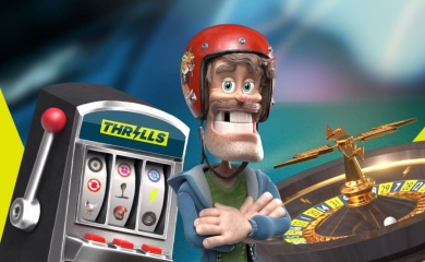 Thrills spilleautomat roulettehjul