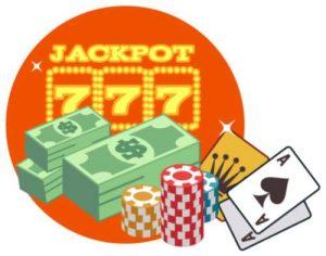 Jackpot casinobonus sedler og chips