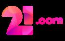 21.com casino logo
